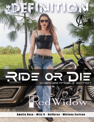 The Definition: Charliez Angelz Ride or Die Issue RedWidow cover
