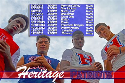 Heritage Schedule