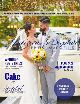 Jahzara Saphir Bridal Magazine September Issue 2016