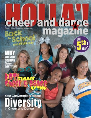 HOLLA'! Cheer and Dance Magazine Fall 2017 Issue