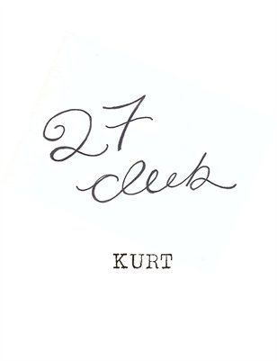 27 Club-Kurt