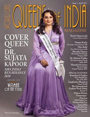 World Class Queens of India Magazine, Issue 1, Dr Sujata Kapoor