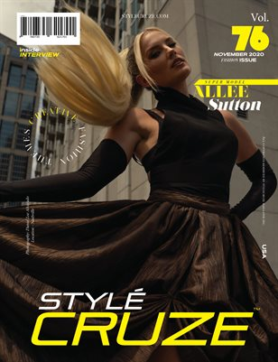 NOVEMBER 2020 Issue (Vol: 76) | STYLÉCRUZE Magazine