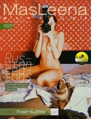 Masleena Magazine // Cover by Slava Sputnik
