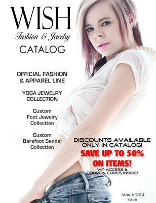 WISH Fashion and Jewelry Catalog - March Issue