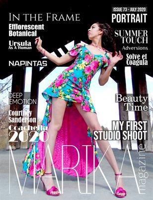 MARIKA MAGAZINE PORTRAIT (July - issue 73)