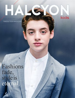 Halcyon Kids Winter 2016