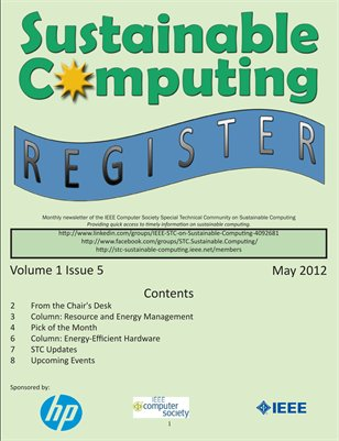 Sustainable Computing Register - May 2012