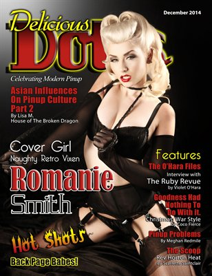 Delicious Dolls December 2014 Issue - Romanie Smith Cover