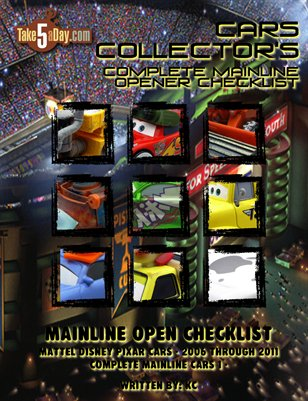 The Complete Mainline Opener Checklist 2006-2011