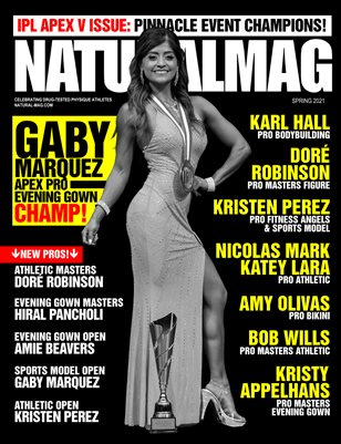 Natural Magazine International Issue #57 - Spring 2021 - Cover: Gaby Marquez