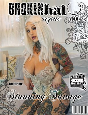 Broken Halo Magazine Vol.8 Feat. Stunning Savage