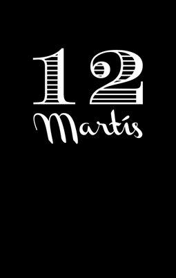 12 Martis