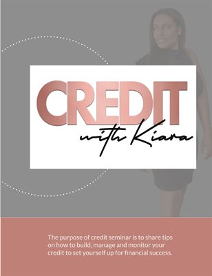The Purpose of Credit - Handout