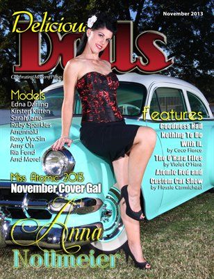 Delicious Dolls November 2013 Issue - Anna Nottmeier Cover