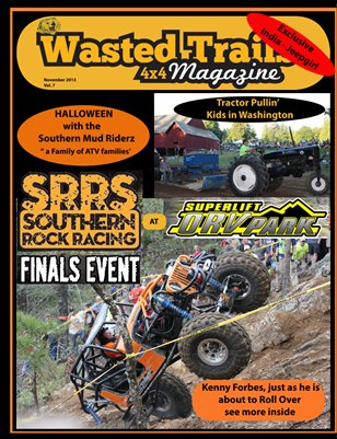 Wasted Trails 4x4 Magazine November 2013 vol 7
