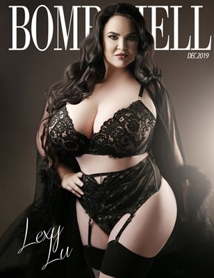 BOMBSHELL Magazine December 2019 BOOK 1 - Lexy Lu Cover