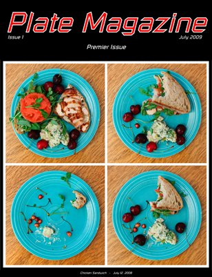 Plate Magazine #1 - Premier Issue