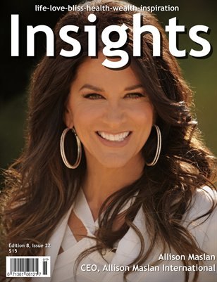 Insights Magazine featuring Allison Maslan