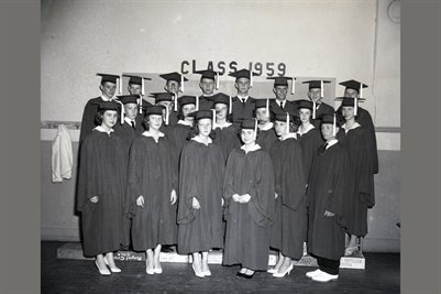 1959 BRIENSBURG SENIORS, Marshall County, Kentucky