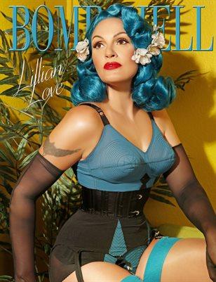 BOMBSHELL Magazine September 2018 BOOK 1 - Lillian Love Cover
