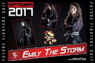 Emily The Storm Cal Poster 2017