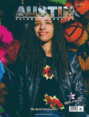 Austin Talent Magazine July 2014 Edition