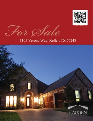 Haugen Properties - 1105 Verona Way, Keller, Texas 76248