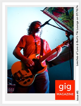 gig MAGAZINE issue #5