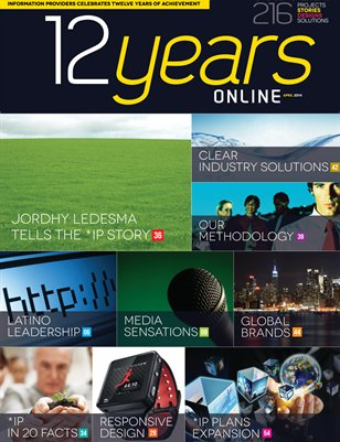 12 Years Online - Information Providers