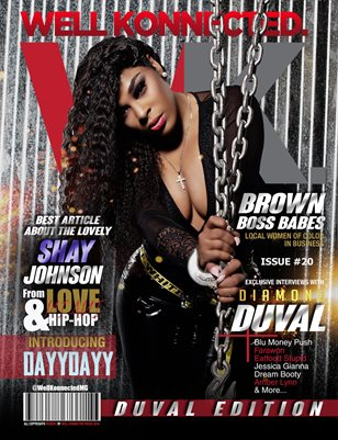 Diamond Duval Cover issue 20
