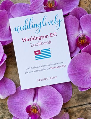 Washington DC WeddingLovely Lookbook, Spring 2012