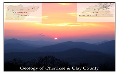 Geology of Cherokee and Clay County