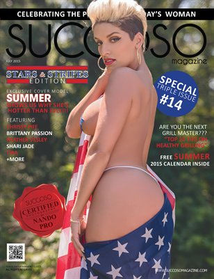 Succoso Magazine Triple Issue #14 ft Cover Model Summer