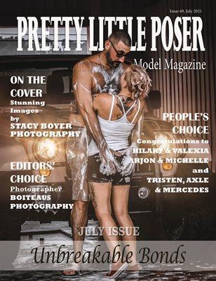 Pretty Little Poser Model Magazine - Issue 69 - Unbreakable Bonds - July 2021