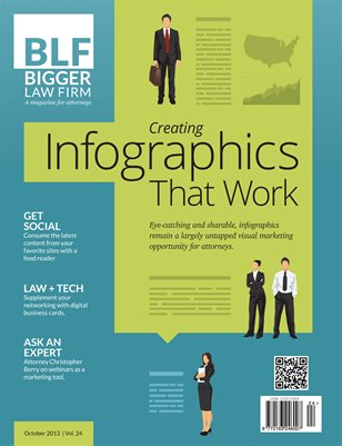 Using Infographics for Attorney Marketing - October 2013