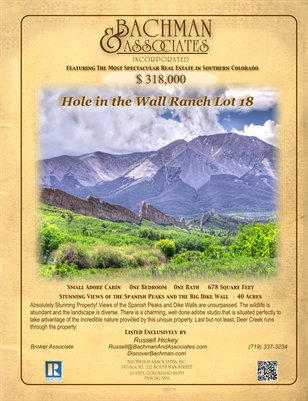 Hole in the Wall Lot 18 4 page brochure