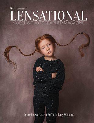 LENSATIONAL Model and Photographer Magazine #84 Issue | Children - February 2021