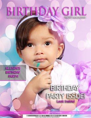 Birthday Girl Allison