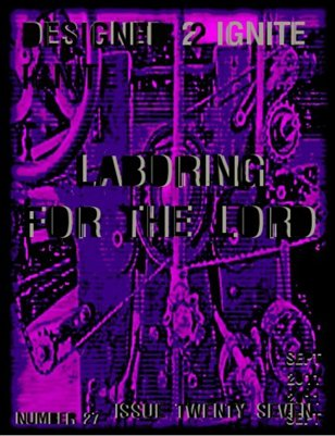 ISSUE 27 LABORING FOR THE LORD