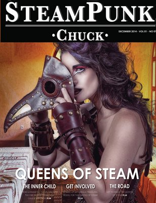 Steampunk Chuck Magazine Dec. 2014