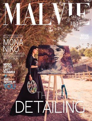 MALVIE Magazine The Artist Edition Vol 104 January 2021