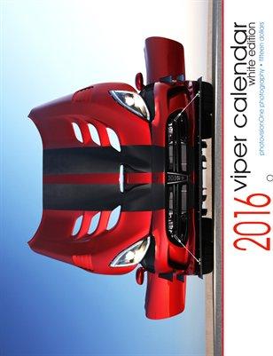 2016 Viper Calendar - Standard White Edition