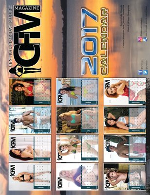 CFM Magazine's 2017 Monthly Calendar