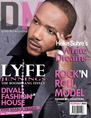 Desirable Mag features Lyfe Jennings