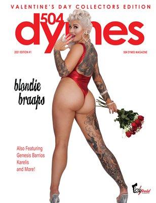 504Dymes Magazine Valentines Edition Blondie Braaps Vol.1 2021