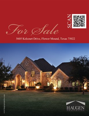 Haugen Properties - 5605 Kelcourt, Flower Mound, Texas 75022