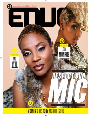 "March Issue: ""Respect Our Mic"""