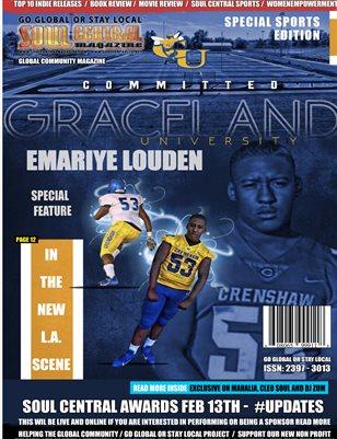 Soul Central Magazine #Editon #107 #Emariye #Louden
