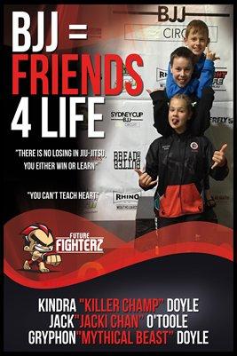 BJJ Friends 4 Life